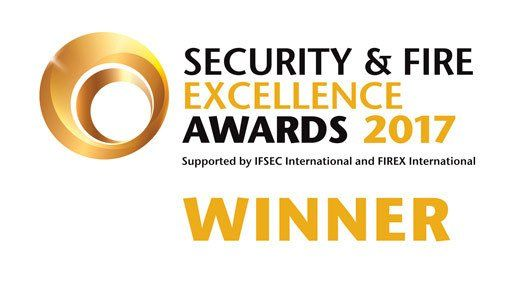Security & Fire Excellence Awards 2017 Winner